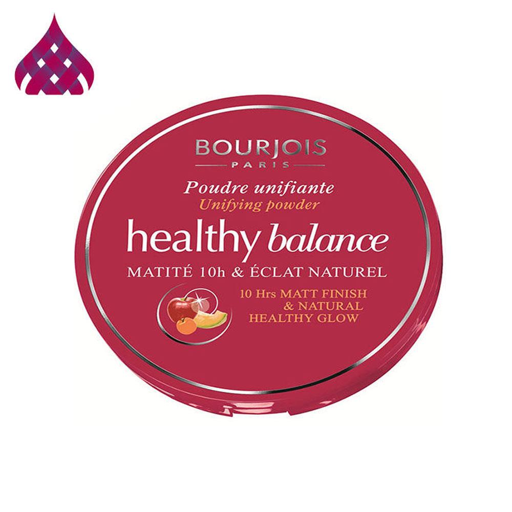 پنکیک برنزه تیره بورژوآ مدل Healthy Balance Powder 56