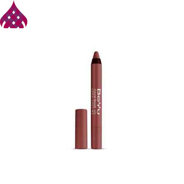 رژ لب مدادی  بی یو  مدل Color Biggie شماره ۴۲۲