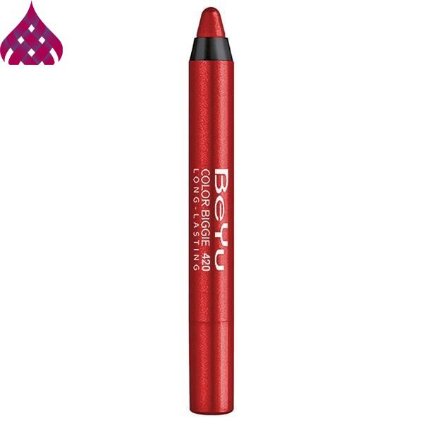 رژ لب مدادی  بی یو  مدل Color Biggie شماره ۴۲۰