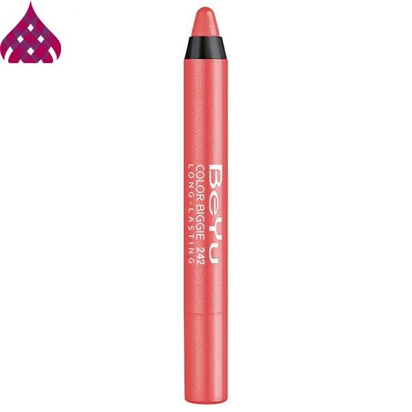 رژ لب مدادی  بی یو  مدل Color Biggie شماره ۲۴۲