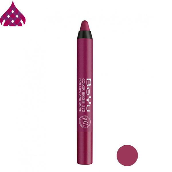 رژ لب مدادی  بی یو  مدل Color Biggie شماره ۲۷۰