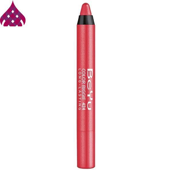 رژ لب مدادی  بی یو  مدل Color Biggie شماره ۴۲۴