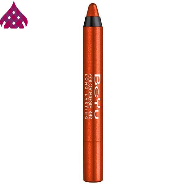 رژ لب مدادی  بی یو  مدل Color Biggie شماره ۴۴۲